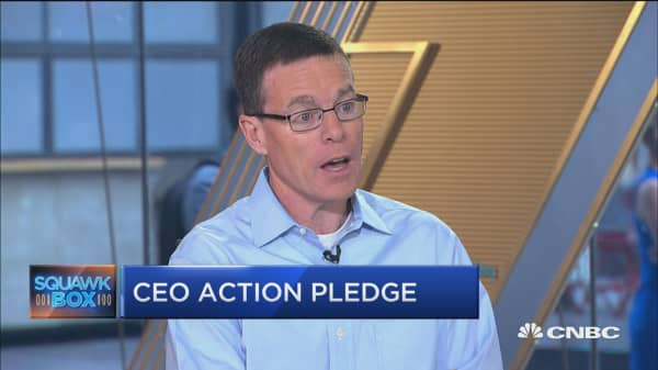 CEO survey shows pledge to implement diversity plan