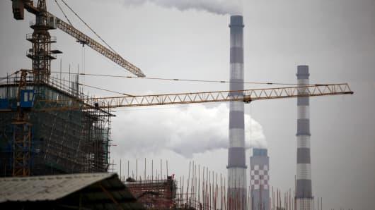 Power generating plant in Changshu, China.