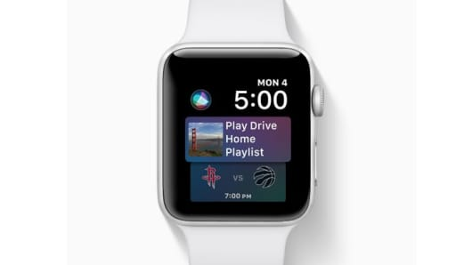 CNBC Tech: Apple Watch Siri new