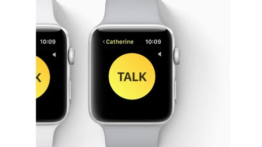 CNBC Tech: Apple Watch walkie-talkie