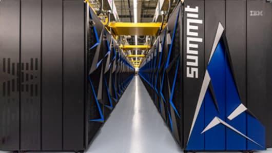 Summit Supercomputer nodes.