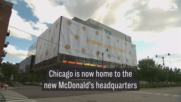 Check out McDonald's new fancy headquarters in Chicago