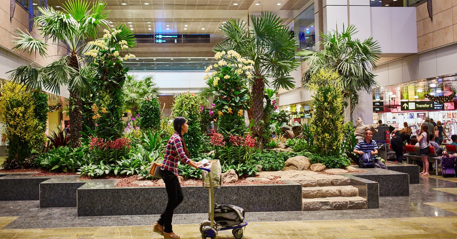 Singapore's airport is ranked the best in the world — take a look inside