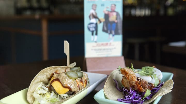 A Mexican restaurant in Singapore created the El Trumpo and Rocket Man tacos for the Trump-Kim summit.
