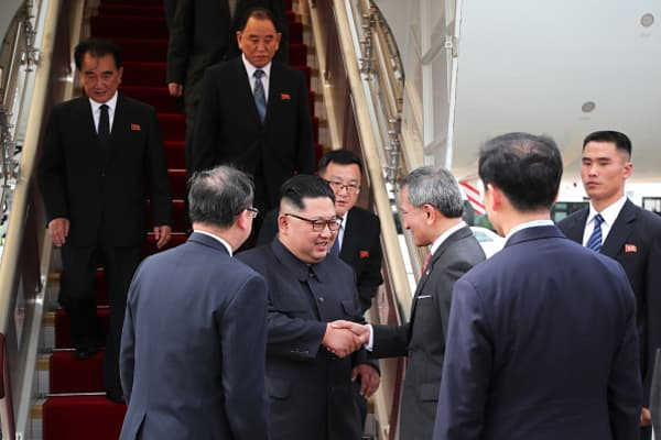 Trump, Kim Jong Un arrive in Singapore
