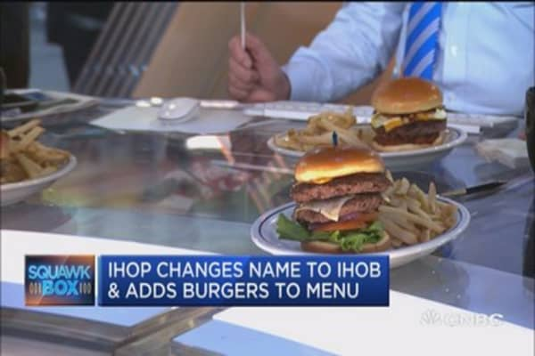 IHOP to change name to IHOB and add burgers to the menu