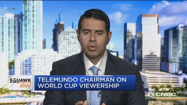Telemundo chairman on 2018 World Cup