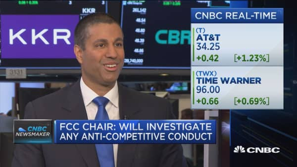 FCC's Ajit Pai talks net neutrality and open internet