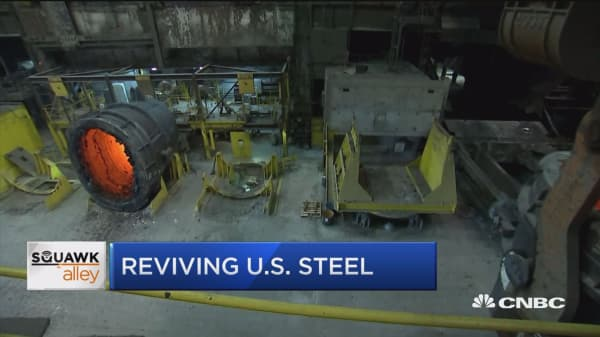 US Steel revives facility closed since 2015