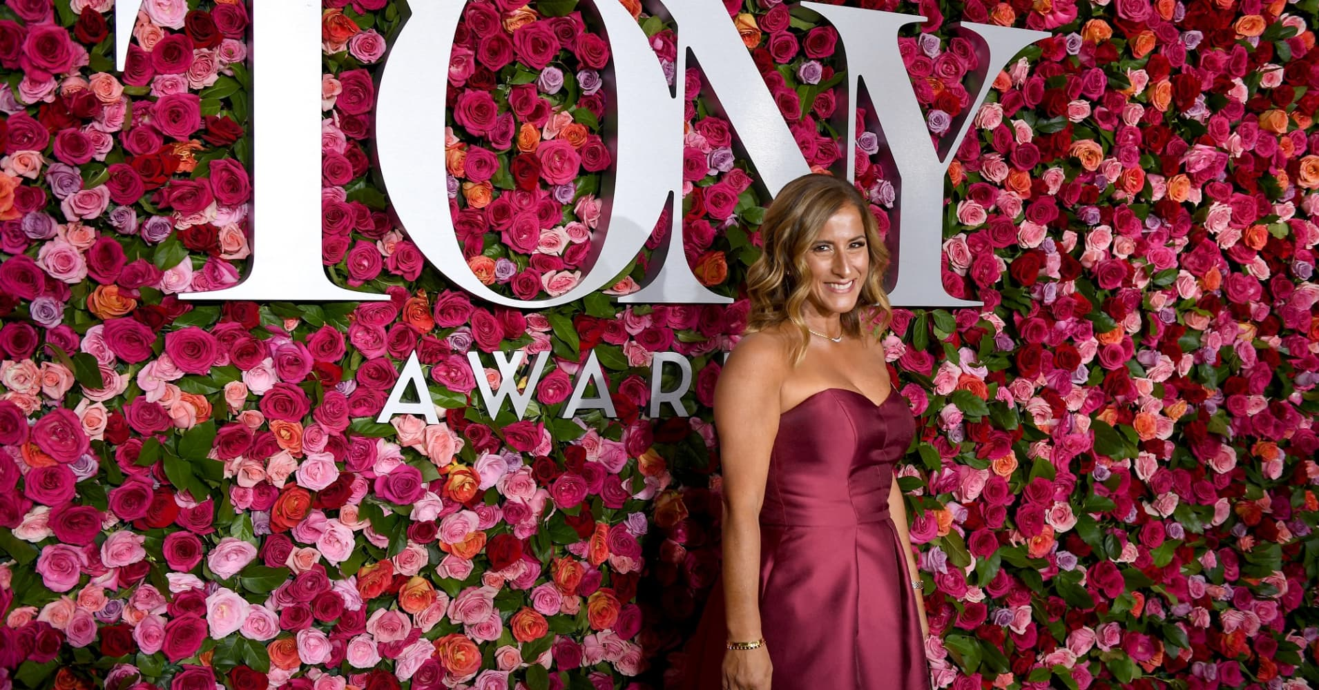 Marjory Stoneman Douglas teacher Melody Herzfeld attends the 72nd Annual Tony Awards at Radio City Music Hall on June 10, 2018 in New York City.