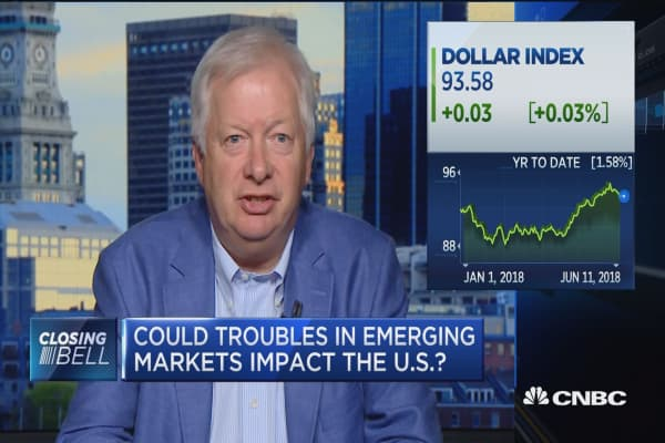 Stronger dollar troubles emerging markets