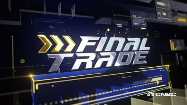 Final Trade: MU, T & more