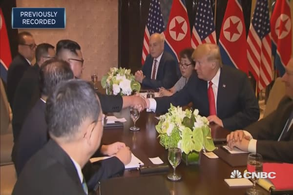 Trump and Kim begin a wider bilateral meeting