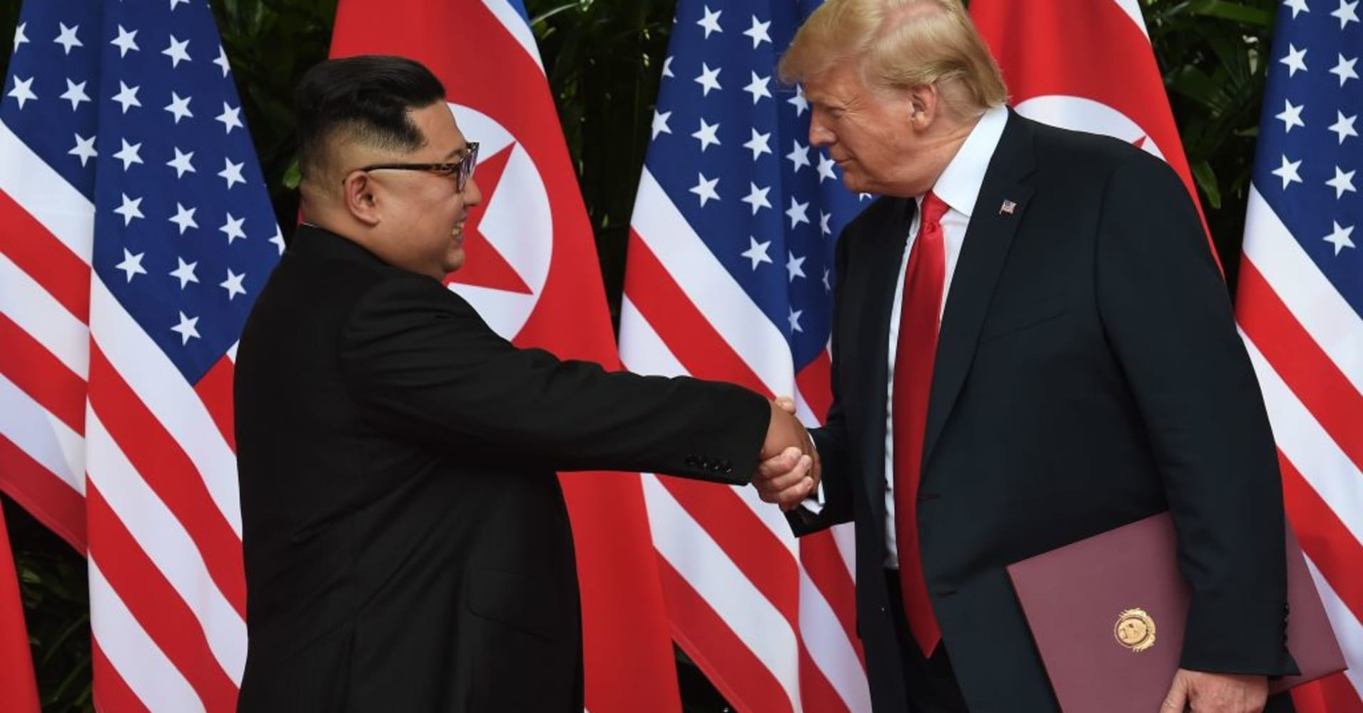 Trump: I'm in no hurry to see North Korea denuclearize
