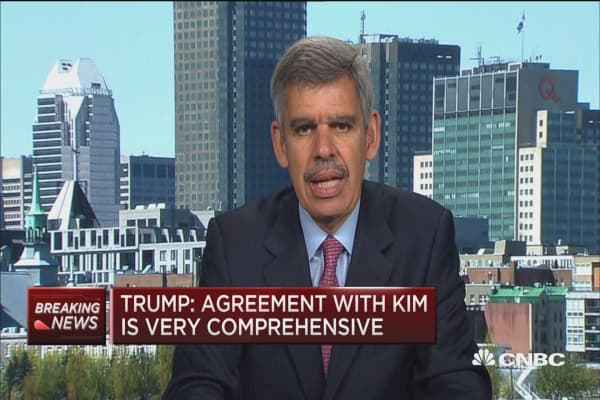 Trump's meeting with Kim is first step in a process, says Mohamed El-Erian