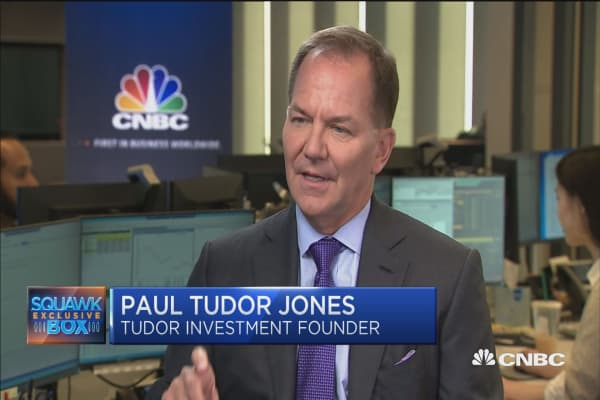 Paul Tudor Jones: Trump's trade policy 'jams a square peg in a round hole'