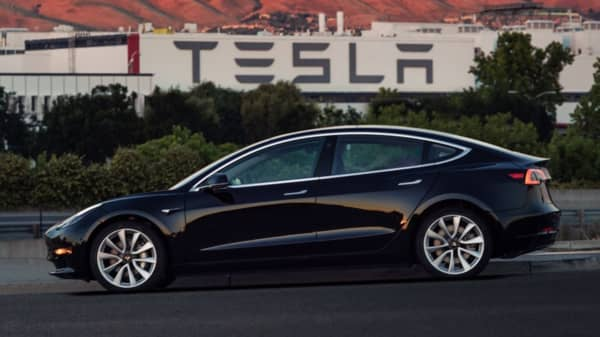 Tesla Shares Rise After Analyst Raises Model 3 Delivery Estimate By 50