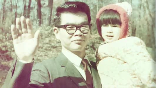 Marguerita Cheng, CEO of Blue Ocean Global Wealth, and her father Paul S. Cheng