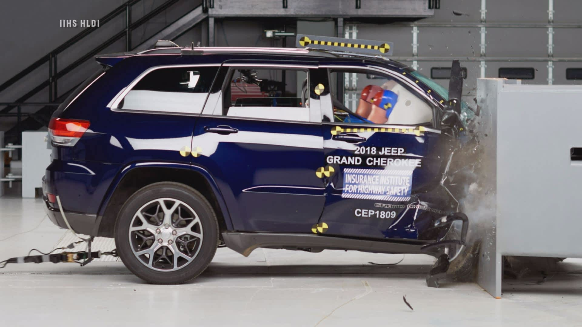 Popular Ford And Jeep Suvs Rated As Poor In Latest Crash Tests Grand Cherokee 2006 Front Power Door