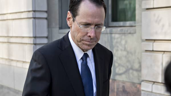 Randall Stephenson, chairman and chief executive officer of AT&T