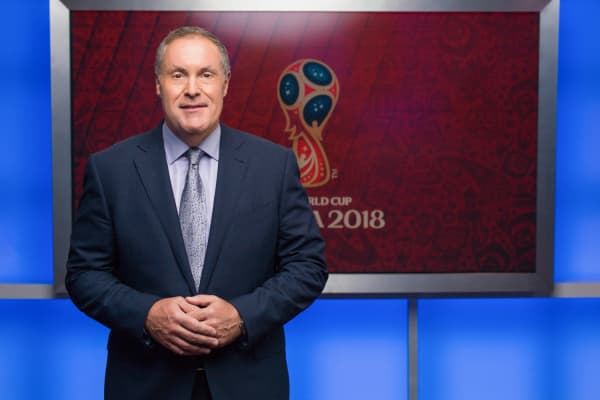 Commentator Andres Cantor will broadcast his ninth consecutive World Cup from Russia.