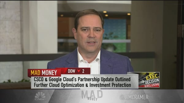 Cisco CEO on new Google Cloud partnership
