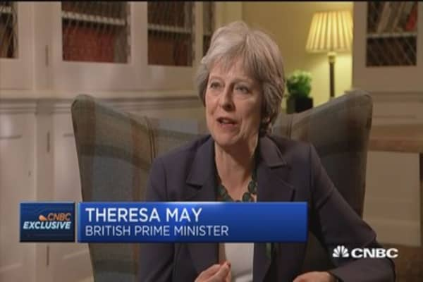 Theresa May: UK to launch start-up visa to grow tech sector