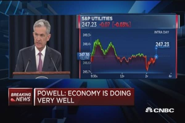 Fed's Powell: Fed presidents report that trade policy concerns are rising