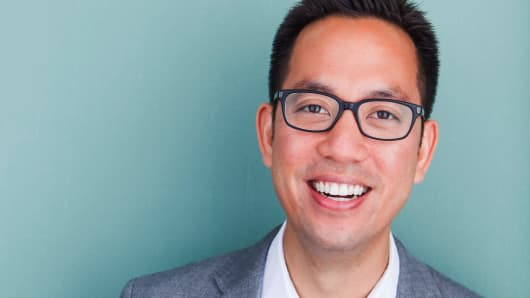 Portrait of Opendoor CEO and co-founder Eric Wu.