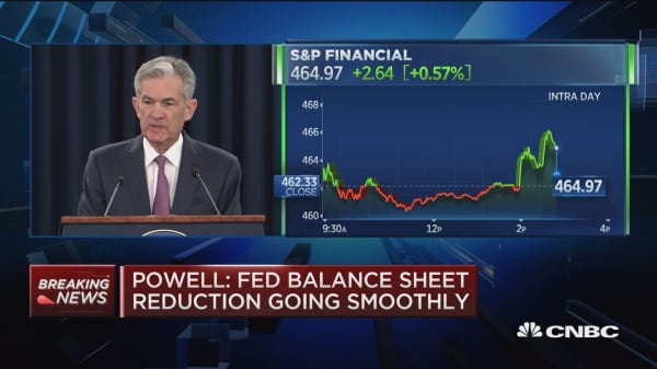 Fed's Powell: 'We're waiting and seeing' on sustained 3% growth