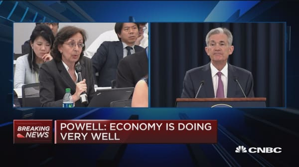 Fed's Powell: Don't seek to play a role in trade policy