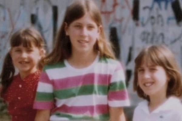 The Wojcicki sisters: Anne, Susan and Janet (L to R).