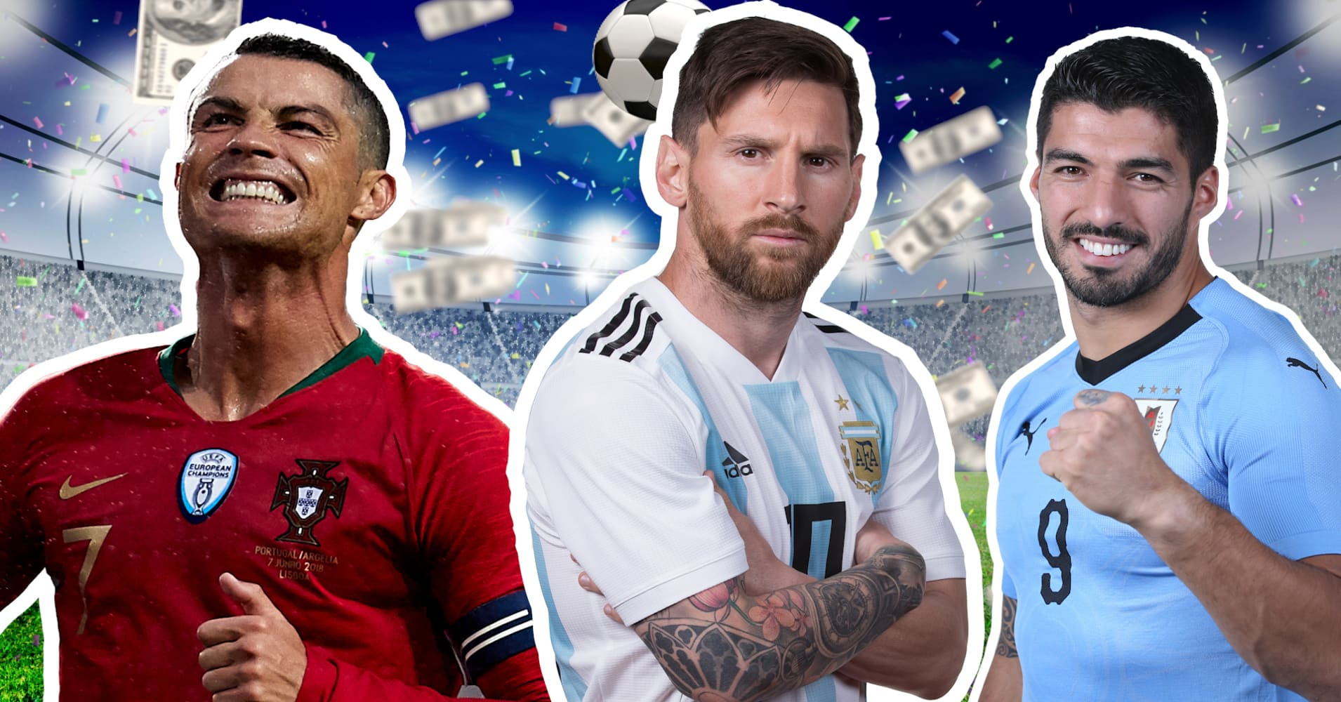 These are the 8 highest-paid soccer players in the world