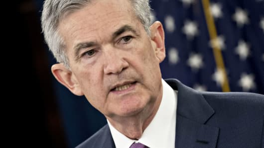 Jerome Powell, chairman of the U.S. Federal Reserve