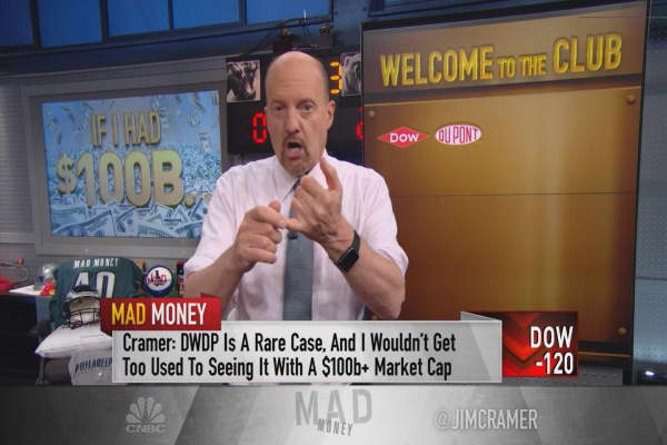 Cramer introduces the market's newest high-quality stock group: The $100 billion club