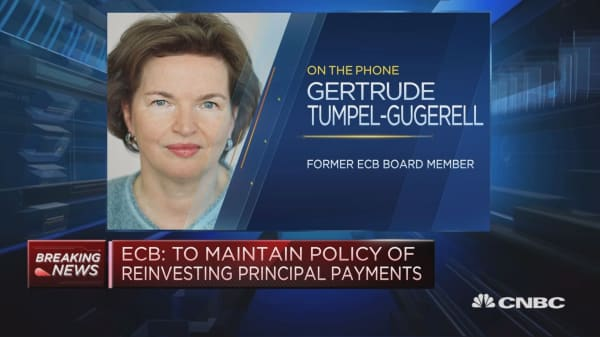 Tumpel-Gugerell: ECB QE unwinding announcement well timed