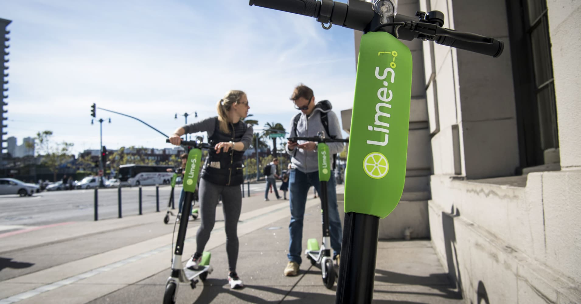 Lime Bird Spin Why Scooter Start Ups Are Suddenly Worth