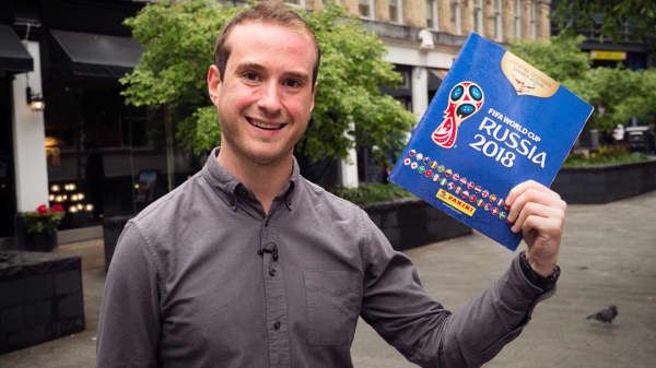 Why soccer fans are spending hundreds on Panini World Cup stickers