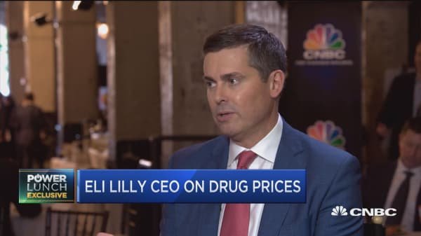 Eli Lilly CEO: 'It's time for a change' in the drug pricing system