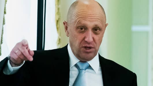 Yevgeny Prigozhin controls Concord Management and Consulting LLC.