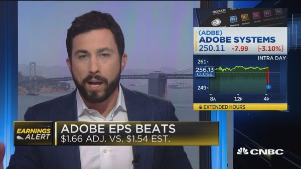 Adobe Q2 earnings beat the street