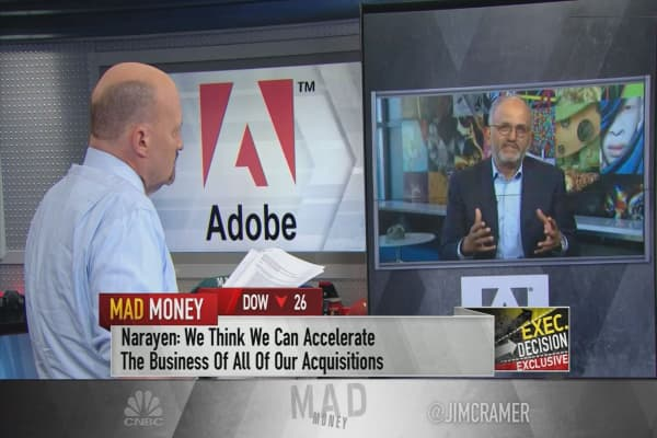 Adobe CEO: We want to have the only 'end-to-end solution' for video, immersive media like AR