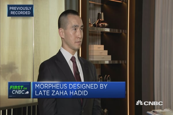 This Macau resort executive sends a 'love letter' with the latest hotel