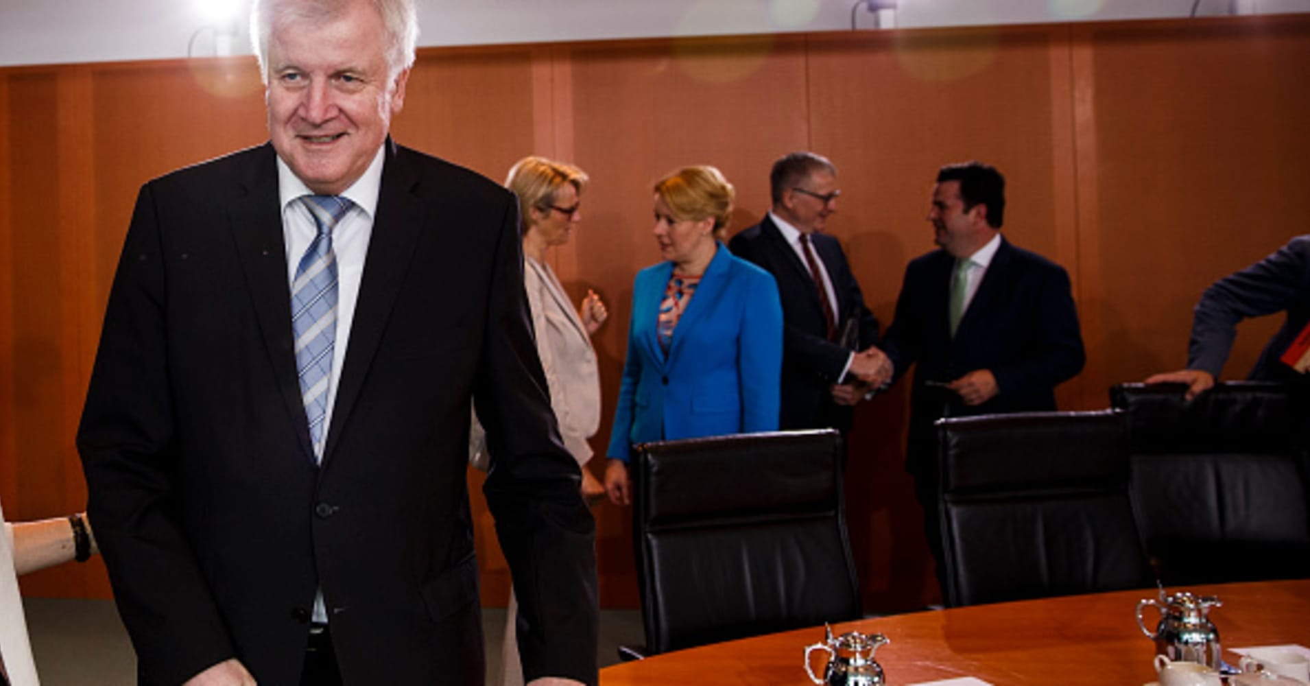 German Interior Minister Seehofer reportedly offers to resign