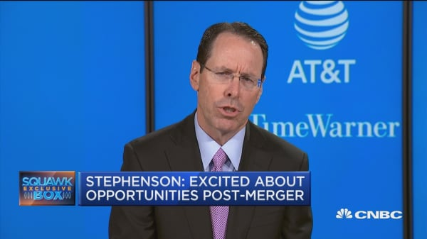 AT&T CEO on Time Warner merger: We tend to invest when we buy businesses
