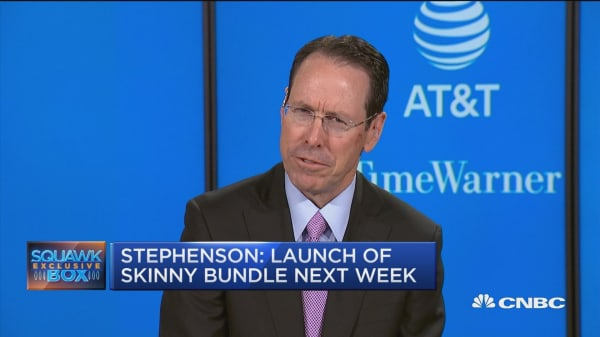 AT&T CEO: We'll launch free mobile 'skinny' bundle next week