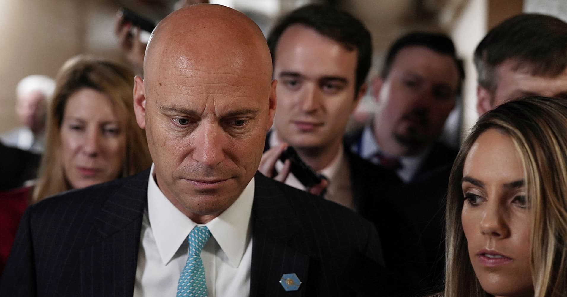 Ex-Trump aide Marc Short will be Vice President Mike Pence's chief of staff