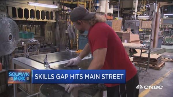 Skills gap hits Main Street businesses