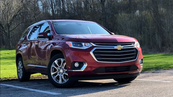 The 2018 Chevy Traverse
