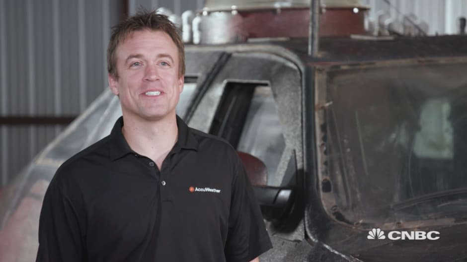 Extreme meteorologist Reed Timmer gets paid to drive into tornadoes